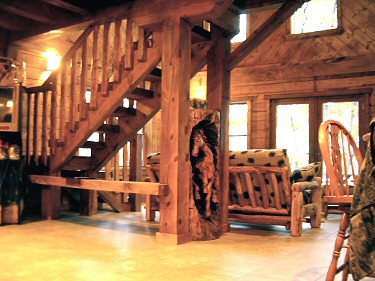 Log Cabin Home Additions Contractor Lehigh Valley Poconos Pennsylvania