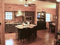 Modern Kitchen Timeber Frame Home Builders Serving Poconos, PA.
