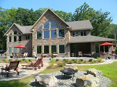 Custom Lakefront Home - Built In The Poconos Of Pennsylvania