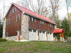 Custom built home constructed near Jim Thorpe, PA. at the base of the Poconos in Carbon County, PA.