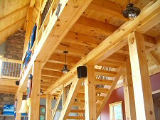 Post And Beam & Timber Frame Construction Specialists Serving Lehigh Valley, Poconos, PA.