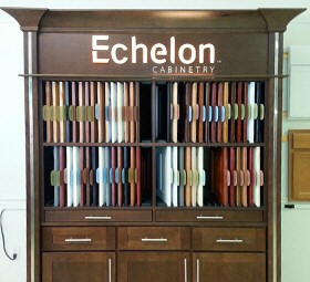 Kitchen Cabinet Showroom Lehigh Valley, Poconos, PA. Featuring Echelon Cabinetry
