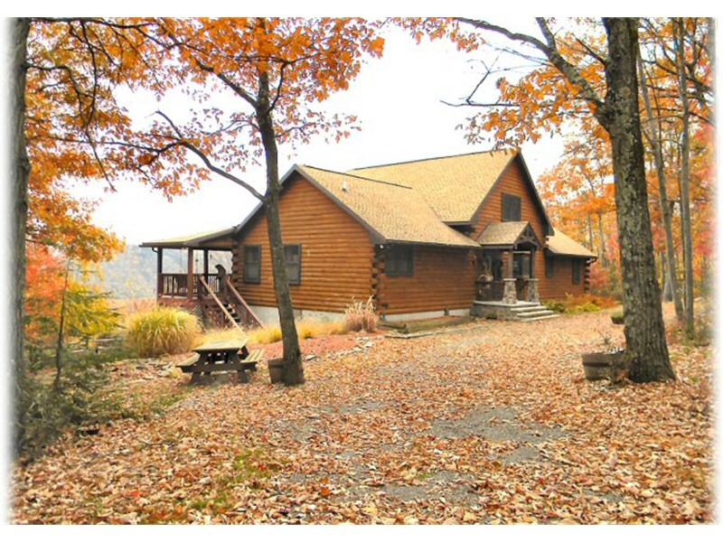lodge ponderosa rental sale pa in county for main log clintin cabins bg cabin