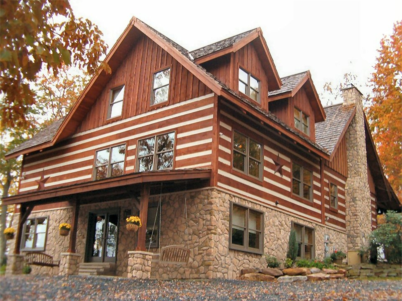 Pa poconos lehigh valley construction home construction for Custom home addition