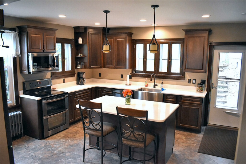 Kitchen Remodeling By Service Construction Co. Inc. Lehighton, PA.