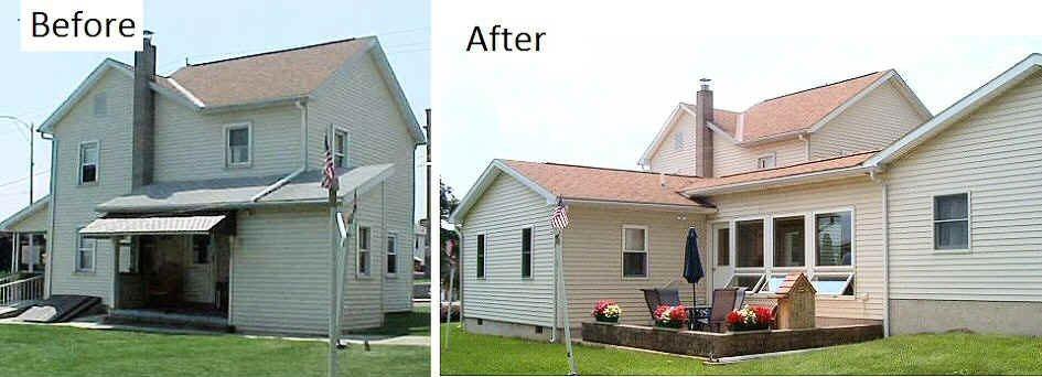 Additions contractor lehigh valley poconos pa for Adding a garage to a modular home